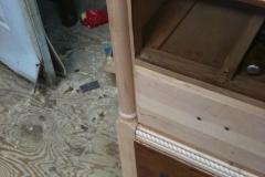 Adding turning and rope molding